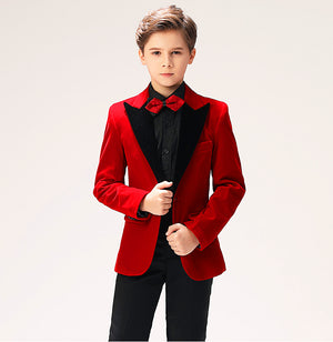 Rich Red Hot Tux