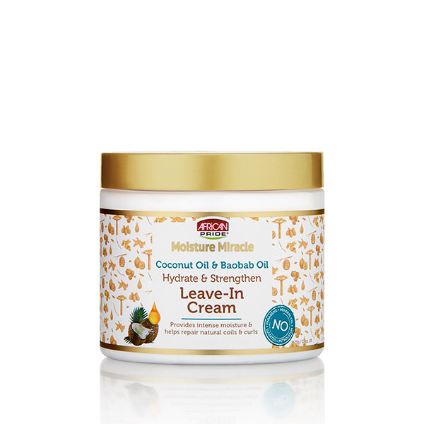 COCONUT OIL & BAOBAB OIL LEAVE-IN CREAM