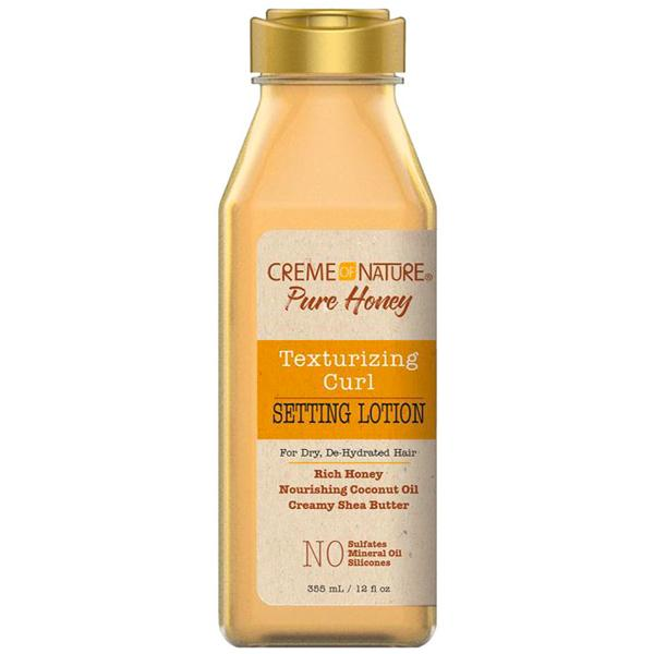CREME OF NATURE TEXTURIZING CURL SETTING LOTION