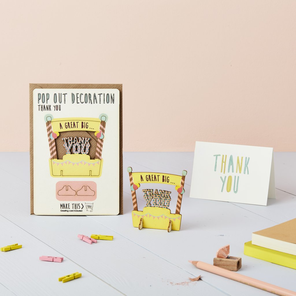 Thank you Pop Out Card