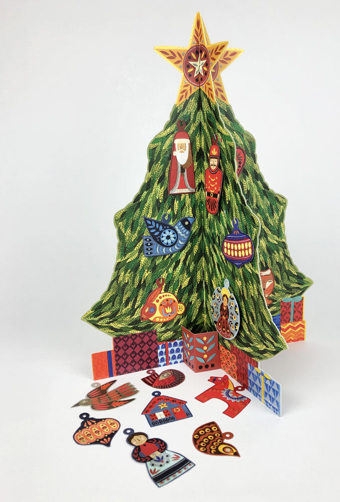 Advent Christmas Tree by Alice Melvin