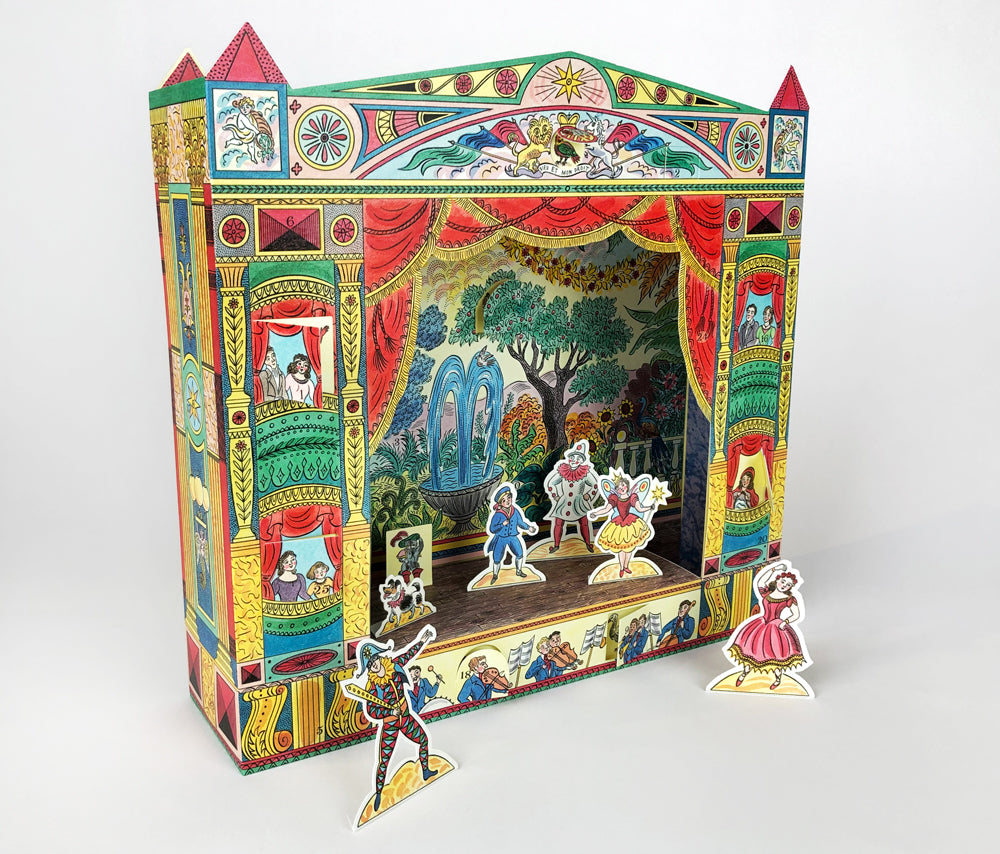 Pantomime Theatre Advent Calendar by Emily Sutton