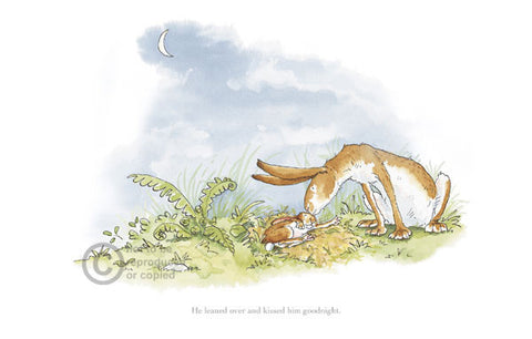 Anita Jeram - I love you right up to the Moon