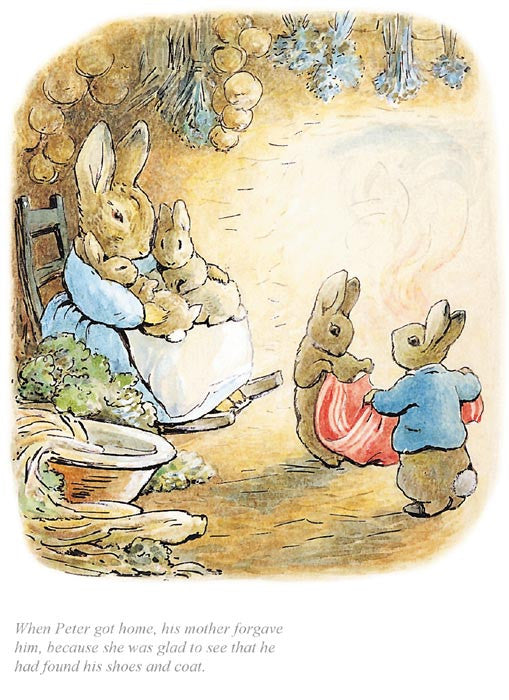 Beatrix Potter - When Peter got home his mother forgave him