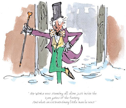Roald Dahl - An extraordinary little man he was
