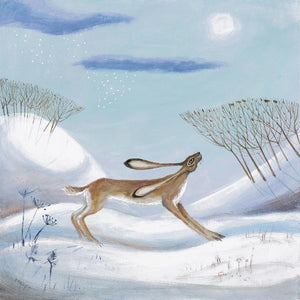 Carolyn Pavey- Snow is in the air
