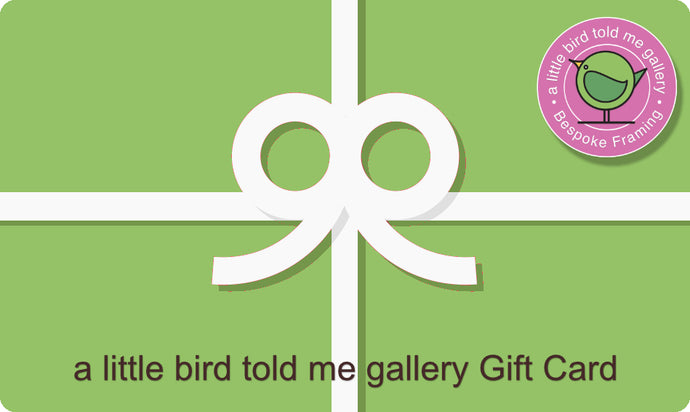 a little bird told me gallery Gift Card