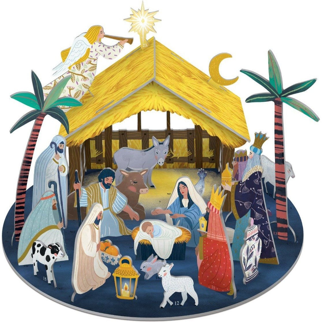 Away in a Manger 3D Advent Calendar
