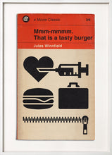 Load image into Gallery viewer, pulp fiction tasty burger 67 inc