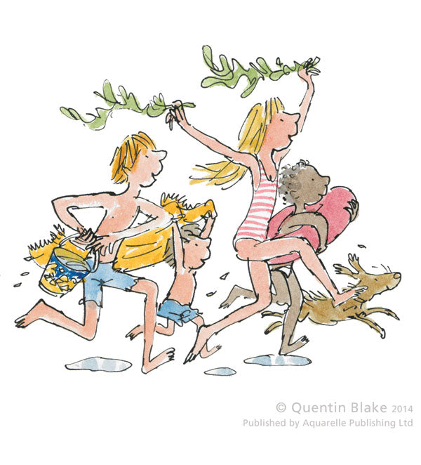 QB6075 'Down to the sea' by Sir Quentin Blake