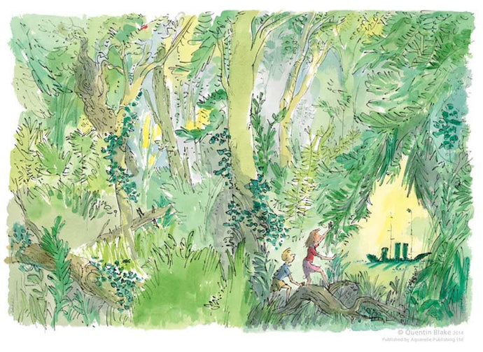 Quentin Blake - The Green Ship
