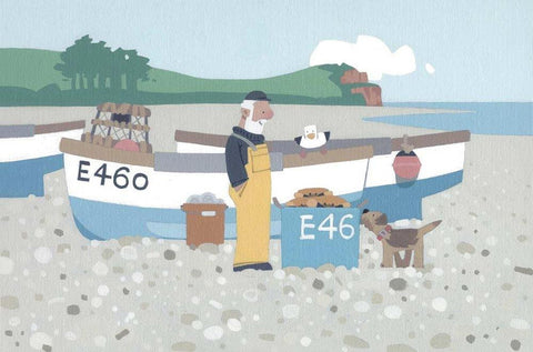 Sasha Harding - A Good Catch, Budleigh Salterton Beach