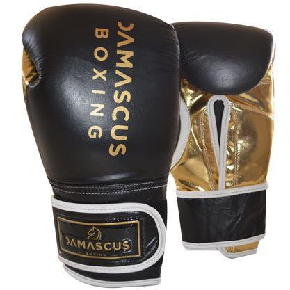 Damascus Fitness Sparring Leather Gloves 14oz