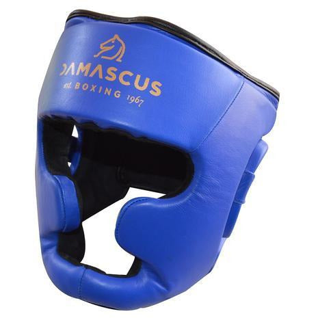 Damascus Fitness Leather Head Guard