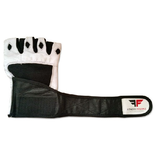 Fitness Freakz Leather Stretch Gloves