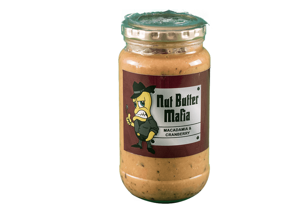 Nut Butter Mafia Macadamia & Cranberry Butter