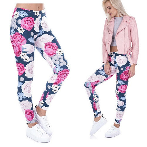 reputable site c12bf 8aab9 Positive Pants Wild Roses
