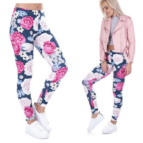 Positive Pants Wild Roses