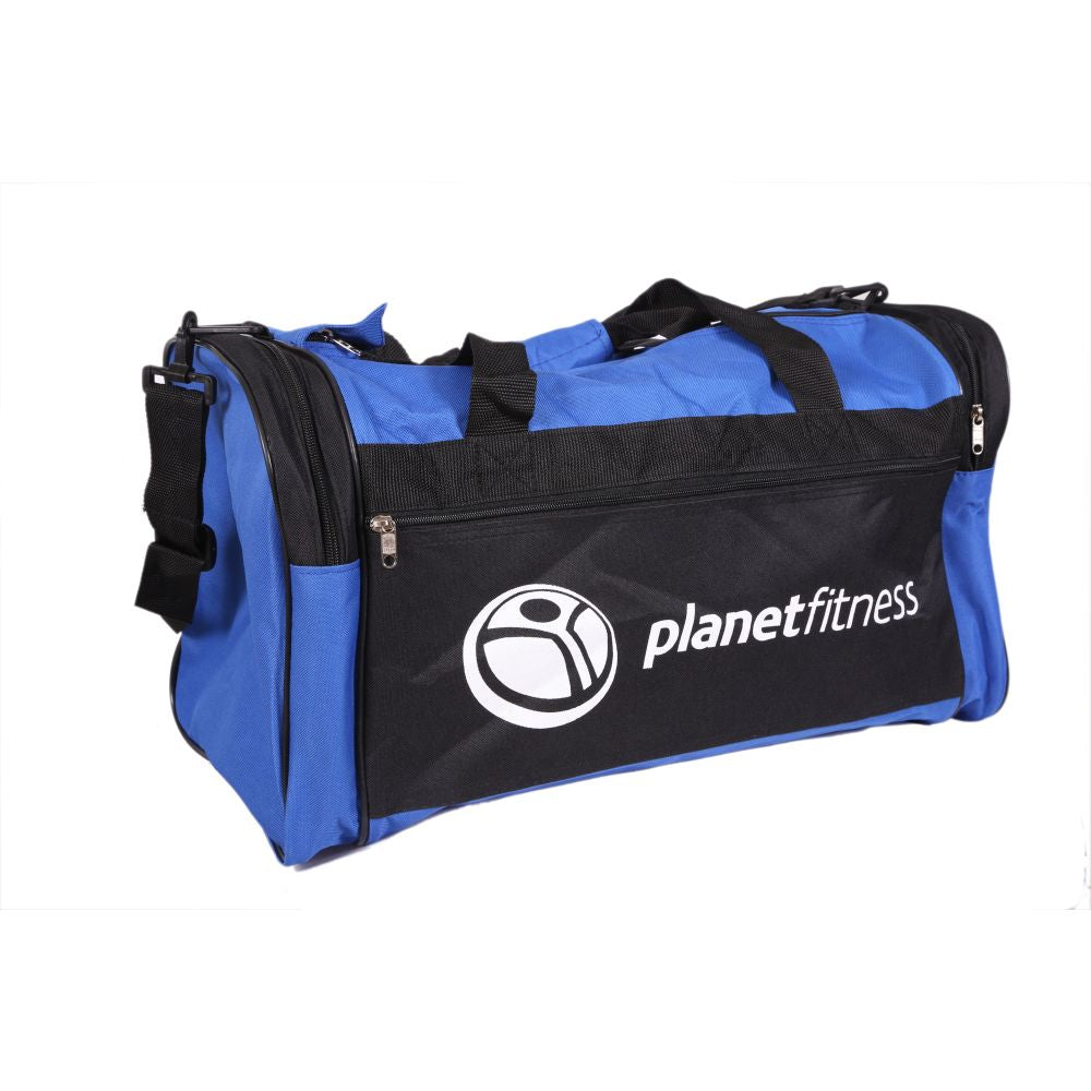 Planet Fitness Multi Zip Duffel Bag
