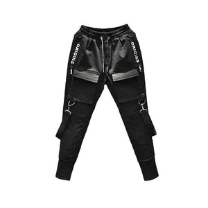 Strapped Cargo Joggers - BLVCKOUT Apparel