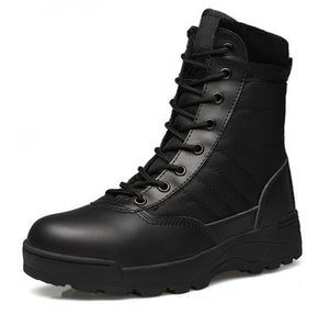 Suede Tactical Boots - BLVCKOUT Apparel