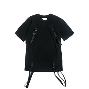 Strapped Tee - BLVCKOUT Apparel