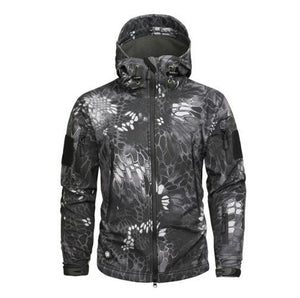 Tactical Weatherproof Jacket - BLVCKOUT Apparel