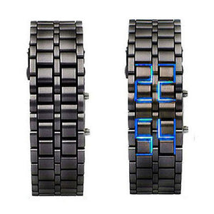 Full Chain LED Watch - BLVCKOUT Apparel