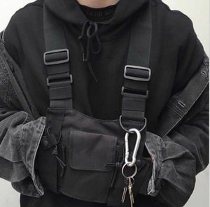 Tactical Chest Harness X1 - BLVCKOUT Apparel