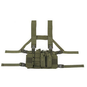 Tactical Chest Harness X2 - BLVCKOUT Apparel