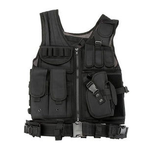 Military Style Vest - BLVCKOUT Apparel