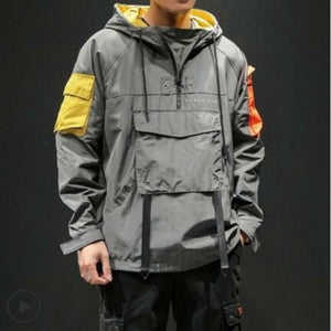 Accented Windbreaker