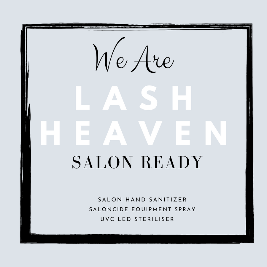 Salon Ready Poster | INSTAGRAM - Lash Heaven