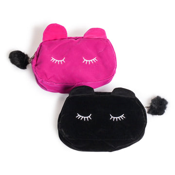 Cute Kitty Make Up Bag - Lash Heaven