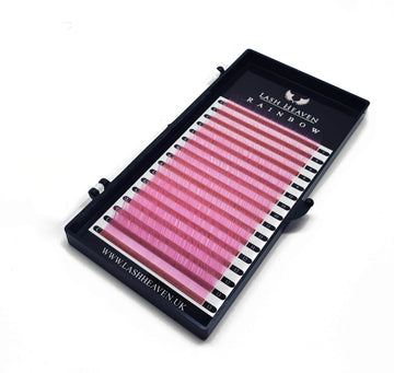 Neon Light Pink 0.07 (Rainbow) - Lash Heaven