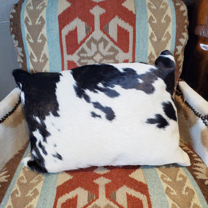 Black & White Lumbar Pillow - PCH9-B