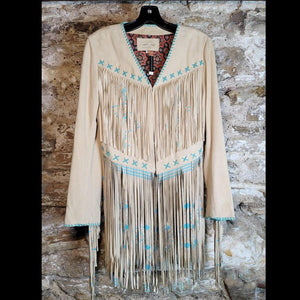 Bone Fringed Jacket - JKTP4