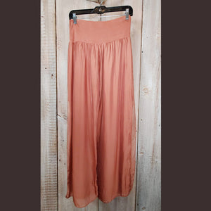 Copper Silk Pant - PTAM1_A