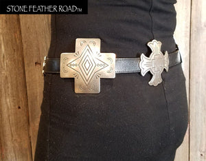 Cross Concho Belts