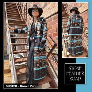 Duster - Brown Zuni - RSDR-ZB