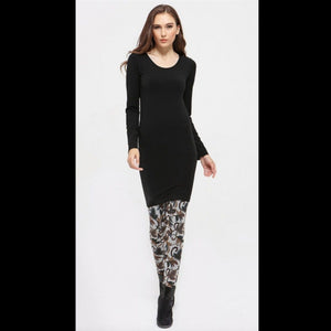 Long Sleeve Dress Bamboo - BAMDR2