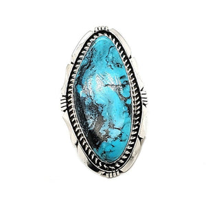 (R) Turquoise Ring - ES - Size 6.5 - R228