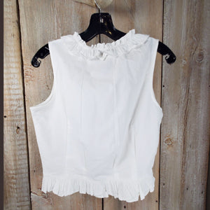Scully White Camisole - TPSY19