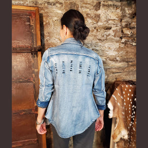 Short Denim Shirt/Jacket - JKTB2