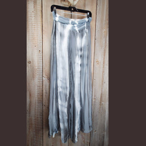 Silver Palazzo Pant - PTTM6