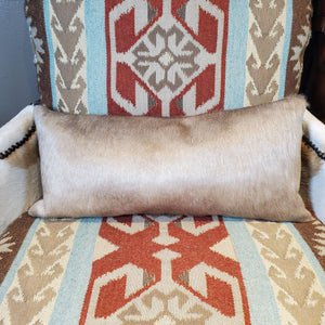 Small Taupe Lumbar Pillow - PCH13-A