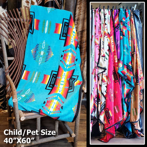 Southwestern Blanket - Pet & Child Size - BLKTPC