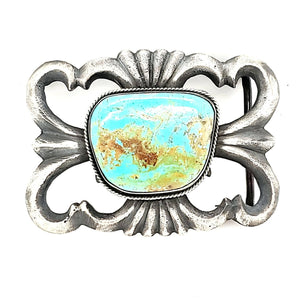Turquoise / Sterling Buckle CB - BUCK1
