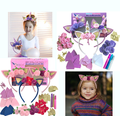 Arts and Crafts Headbands Sets Bundle - ROCA Toys learning toys