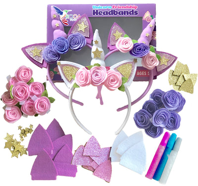 Unicorn Headbands Arts and Crafts Set - ROCA Toys learning toys
